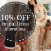10% Off Bridal Gown Alterations