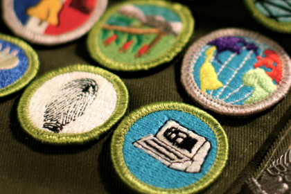 Scout Badge sewing Pompano Beach